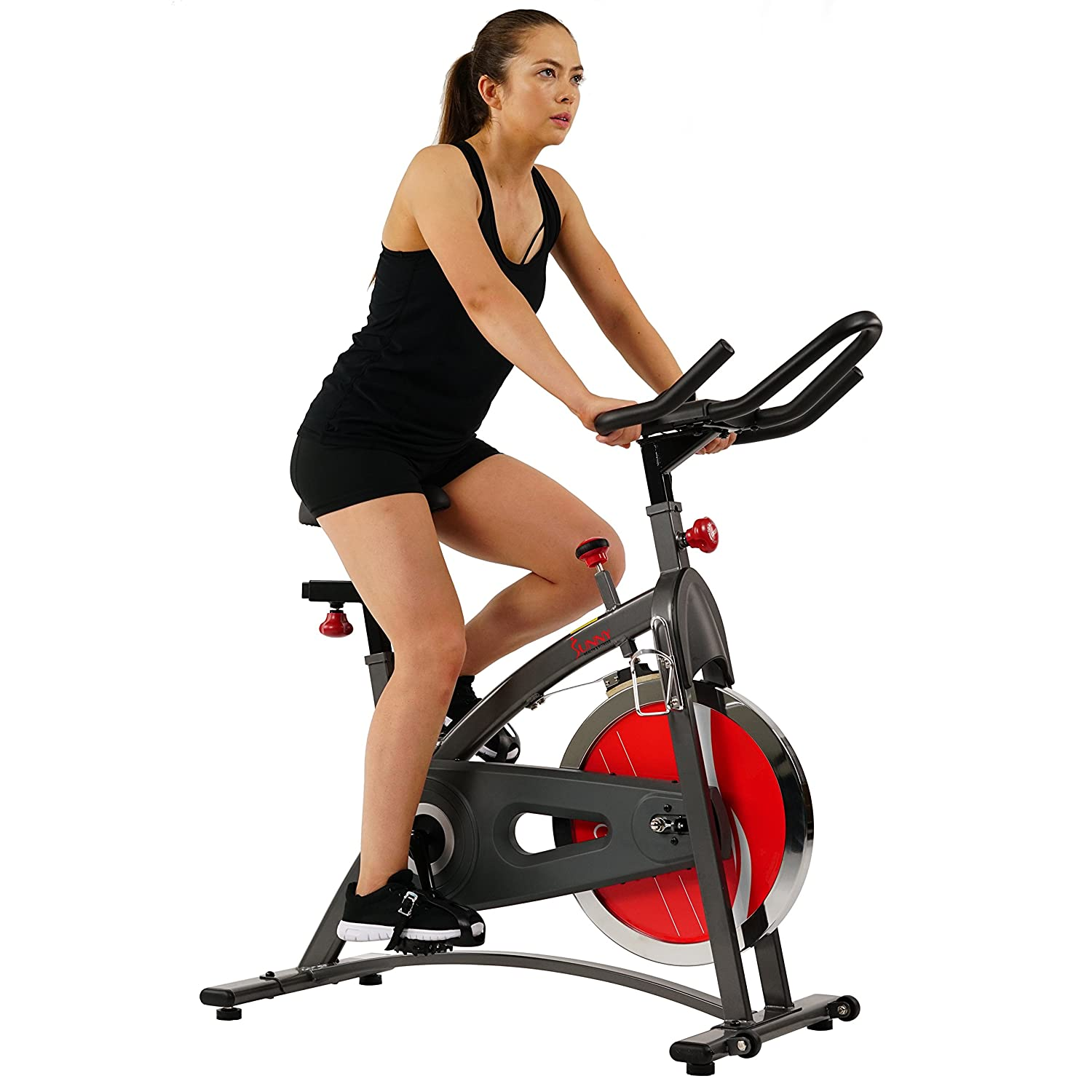 Sunny Health & Fitness Belt Drive Indoor Cycling Bike SF-B1423