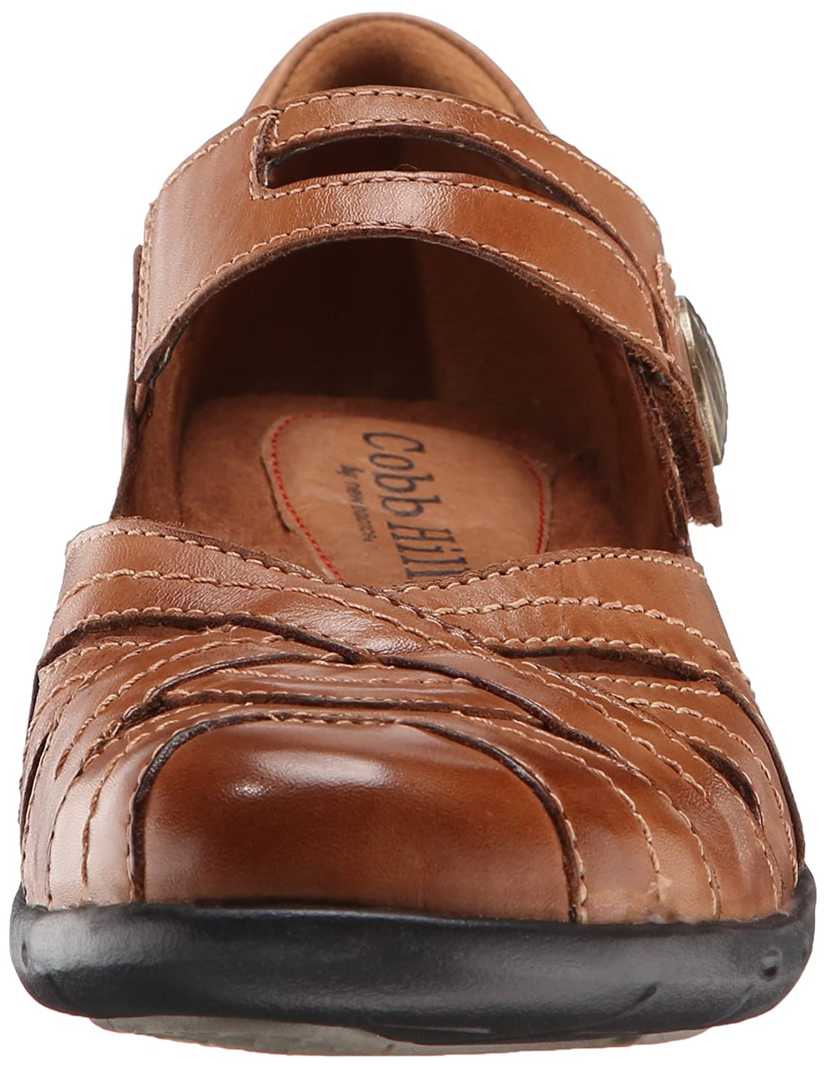Cobb Hill Rockport Women's Parker C/D CH Flat B00M1P30MM 9 C/D Parker US|Tan d72f6c