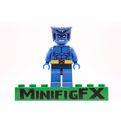 LEGO Beast Marvel X-Men Mutant Henry Hank McCoy: Toys & Games