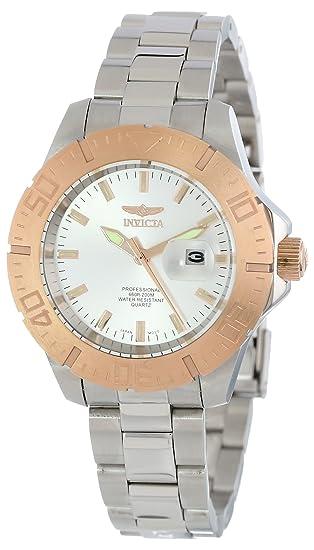 Invicta Invicta Pro Diver 15316 - Reloj analógico de cuarzo para mujer, correa de acero
