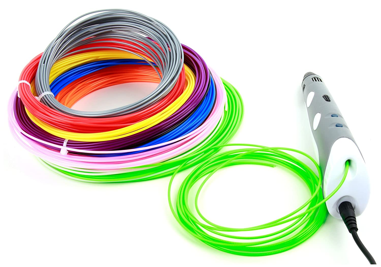 DURAGADGET 10 Filamentos de colores para Impresora 3D BQ ...