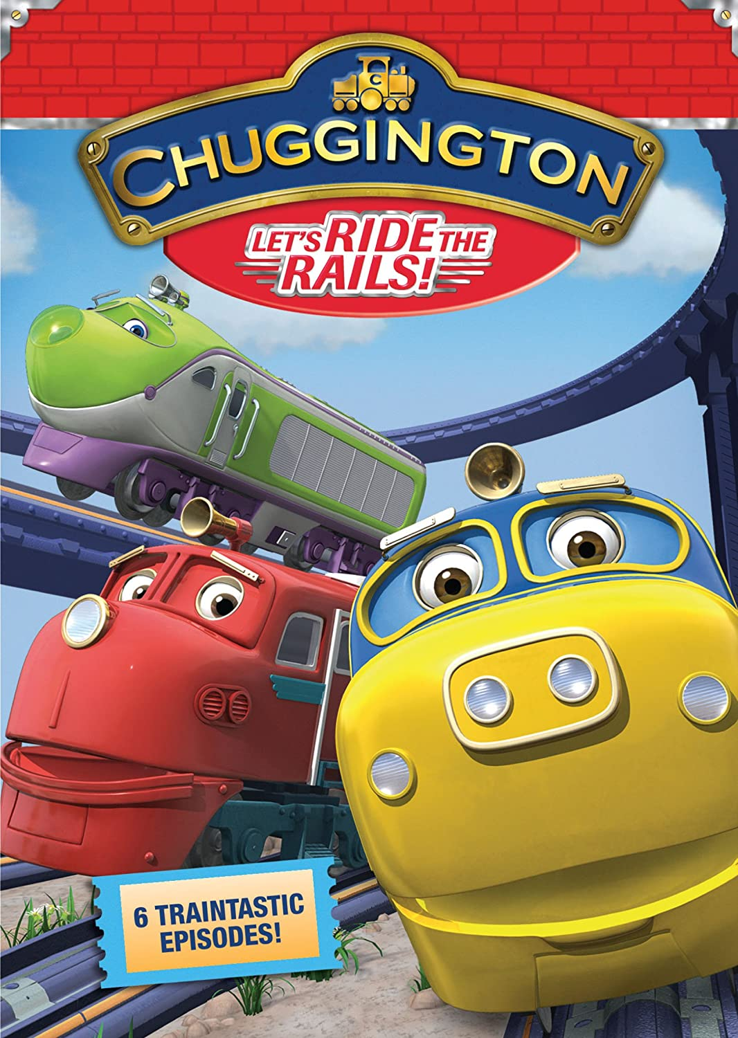 Amazoncom Chuggington Lets Ride The Rails Sarah Ball Movies TV