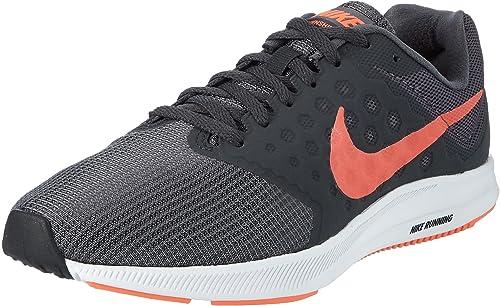 Nike Downshifter 7, Zapatillas de Running para Hombre, Gris (Dark Grey/Total Crimson-Anthracite-Black-White), 38.5 EU: Amazon.es: Zapatos y complementos