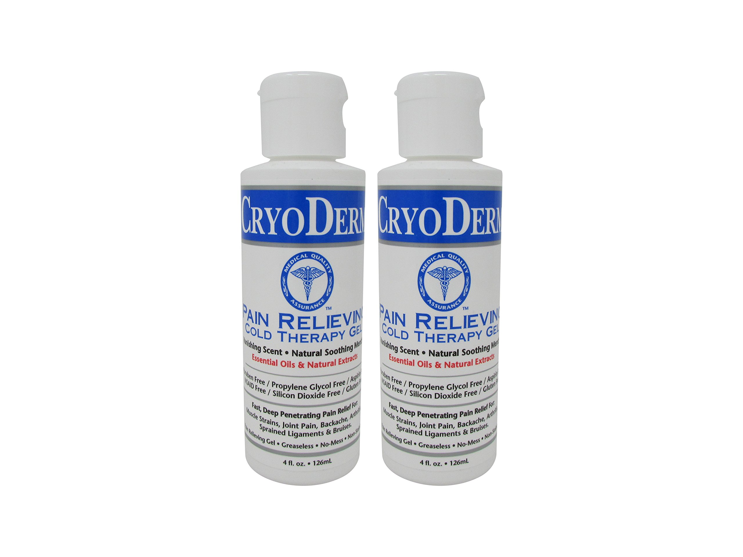 Bundle-2 Items : Cryoderm Cold Gel 4oz (Pack of 2)