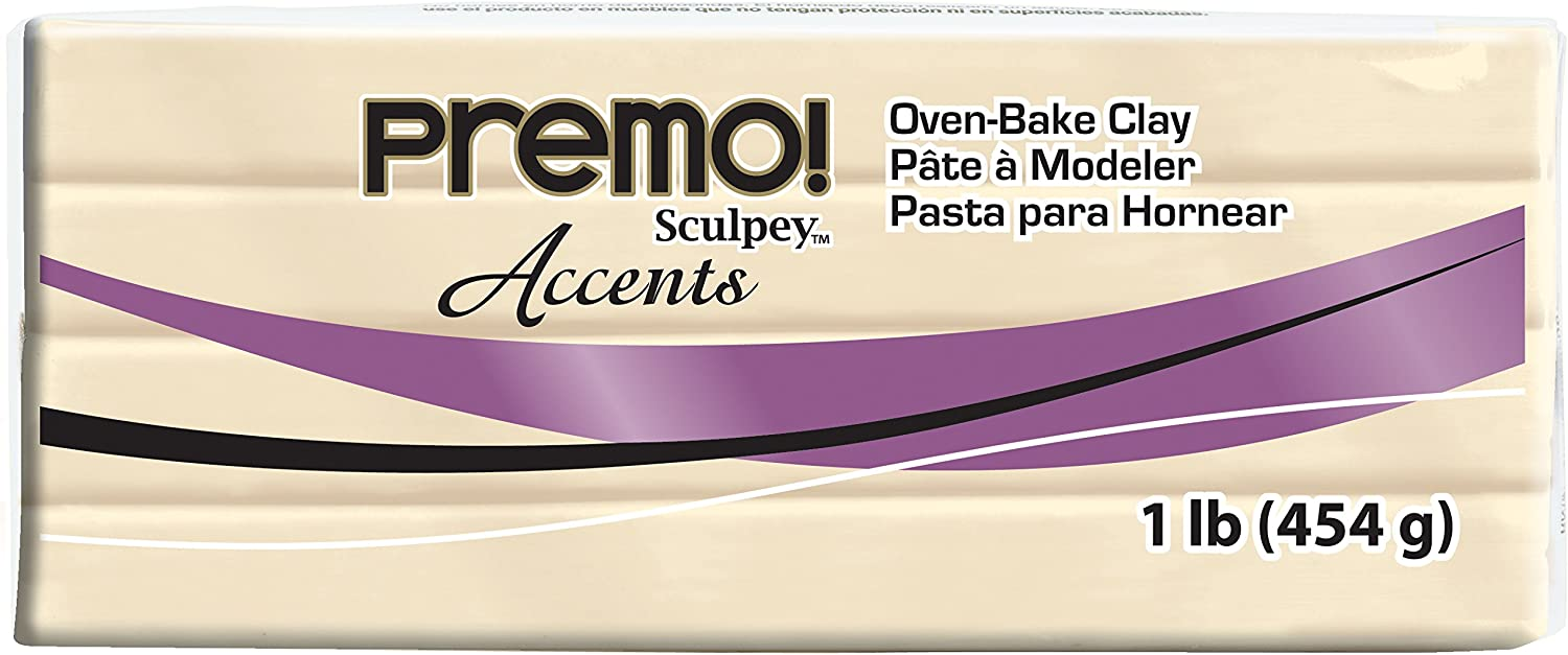 Sculpey PE1 5042 Oven Bake Clay Premo!-Black