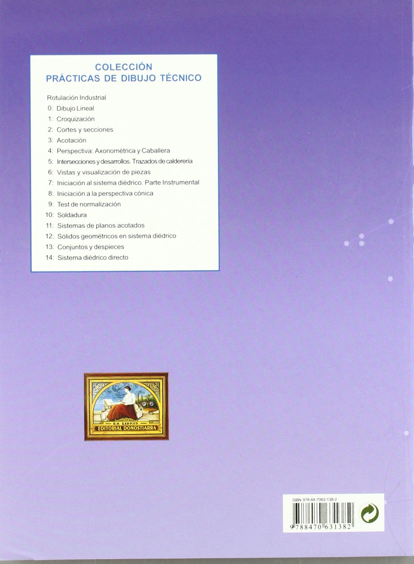 Prácticas de dibujo, n. 7 : sistema diédrico: 9788470631382: Amazon.com: Books