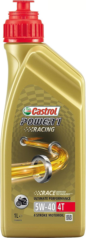 Castrol Power 1 Racing 4t 5w 40 4 Takt Motorrad Motorenöl 1l Auto