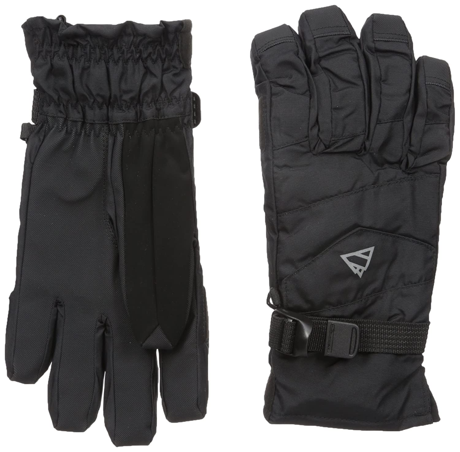 1d72e490026bd Amazon.com: GII Men's 2-in-1 Ski Gloves with Thinsulate Insulation and  Removable Fleece Liner: Clothing