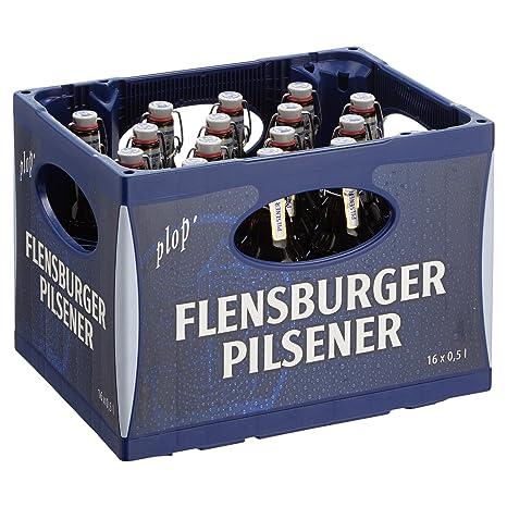 Flensburger Pils Mehrweg (16 x 0.5 l): Amazon.de: Lebensmittel ...