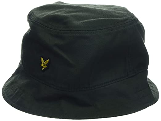 57356c014c0 Lyle and Scott Vintage Bucket Hat One Leaf Grn at Amazon Men s Clothing  store