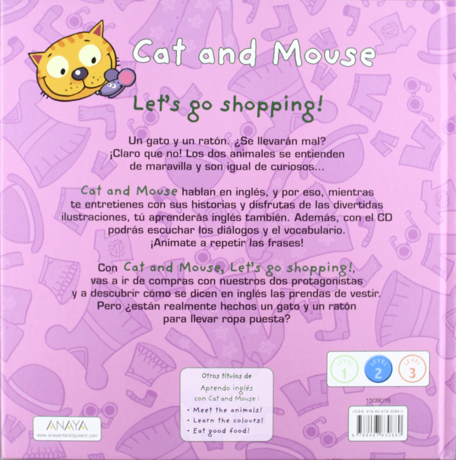Cat and mouse. Lets go shopping!: Stéphane Husar, Loïc Méhée: 9788467830880: Amazon.com: Books