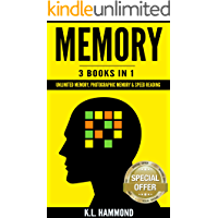 Memory: 3 Books in 1 (Unlimited Memory, Photographic Memory & Speed Reading) (English Edition)