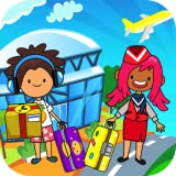 My Pretend Airport - Kids Travel Town & Preschool Games