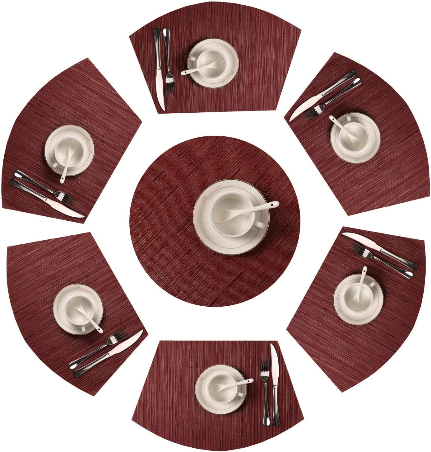 D C FIX Table Mats Weaved Placemats Dining Room Table Plate Decor DISCOUNTED