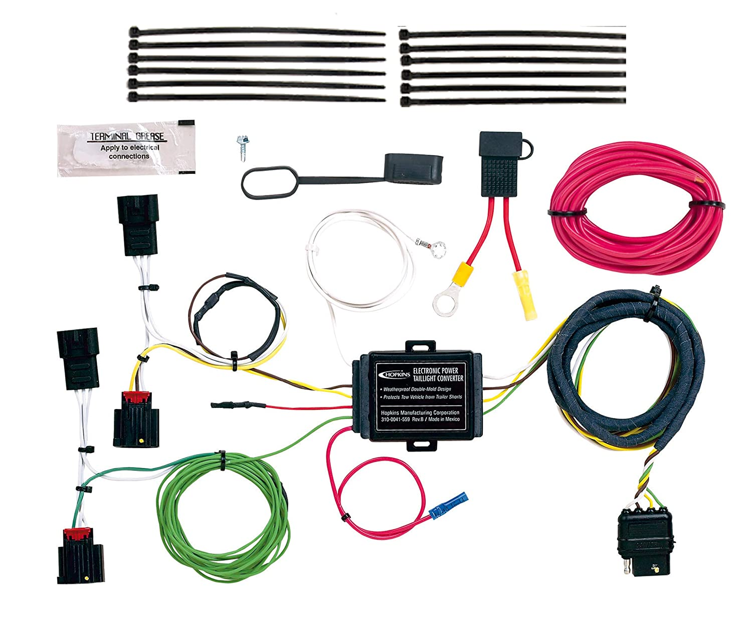 Hopkins 42255 Plug-In Simple Vehicle Wiring Kit Hopkins Manufacturing