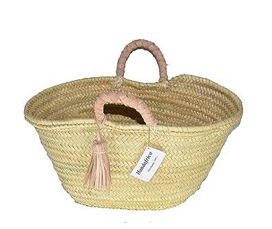 3d1ce650d3 Amazon.com  Mini bag straw Mini Baskets Gold peace and love spangle ...