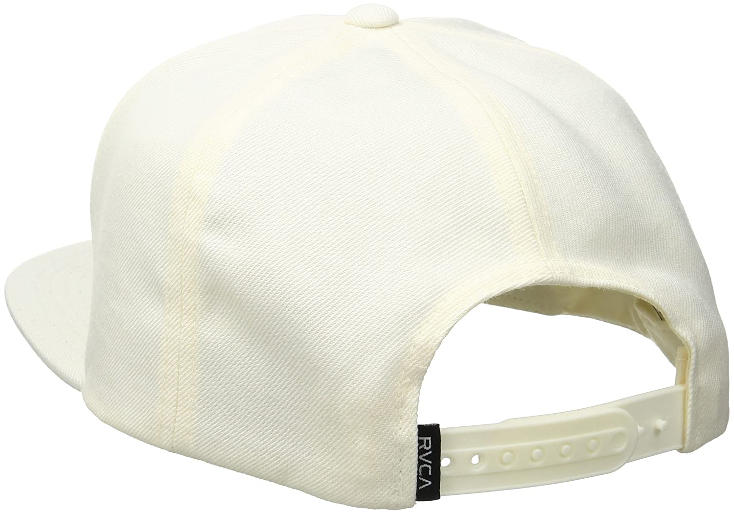 new style cdb10 d7e46 RVCA Men s Wave Box Snapback Hat, Off White, One Size  Amazon.ca  Clothing    Accessories