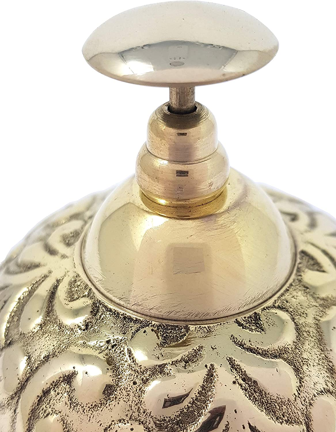 Desk Bell Table Bells Call Bell Reception Bell Brass Nautical 3.5 Inches