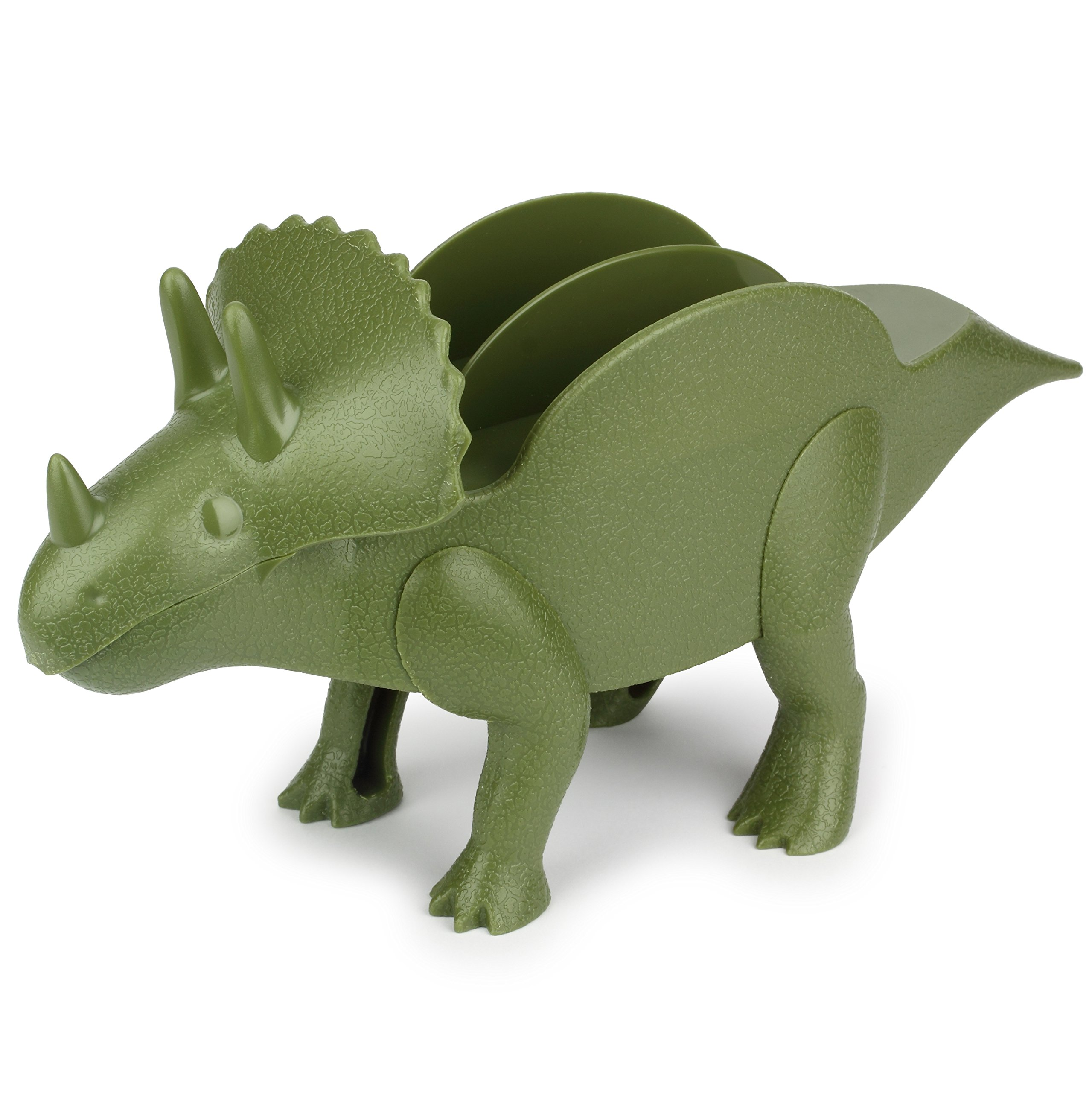 KidsFunwares TriceraTACO Taco Holder - The Ultimate Prehistoric Taco Stand for Jurassic Taco Tuesdays and Dinosaur Parties - Holds 2 Tacos - The Perfect Gift for Kids and Kidults that Love Dinosaurs by KidsFunwares (Image #2)