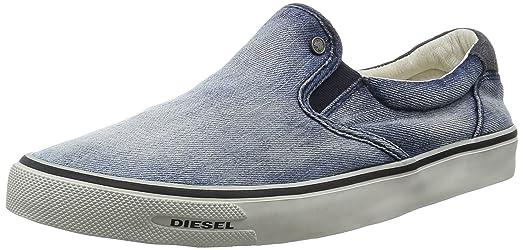 Diesel Sneaker Hombre Mocasin Slip On Metro-Polis Indigo-43 3tqTXLNdrp
