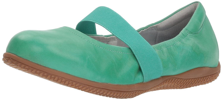 SoftWalk Women's High Point Mary Jane Flat B00LMEJ69Y 5.5 B(M) US|Jade Soft Dull Leather