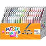 BIC Magic Marker Brush Tip, Assorted Colors, 108-Count- Pack of 648