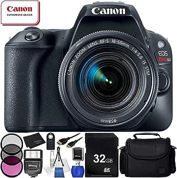 Canon EOS Rebel SL2 cámara réflex Digital con Lente de 18-55mm ...
