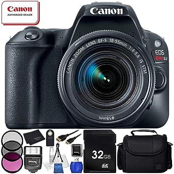 Canon EOS Rebel SL2 cámara réflex Digital con Lente de 18 ...