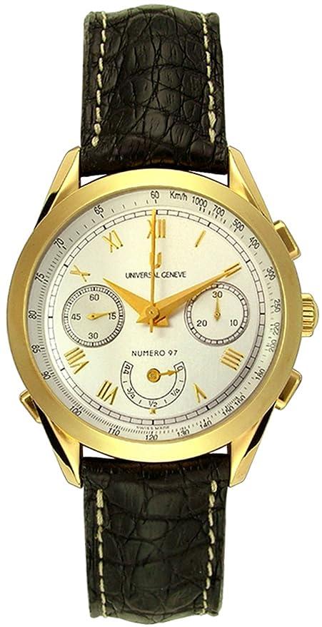 Universal Geneve 188.100/0122 Hombres Relojes: Universal Geneve: Amazon.es: Relojes