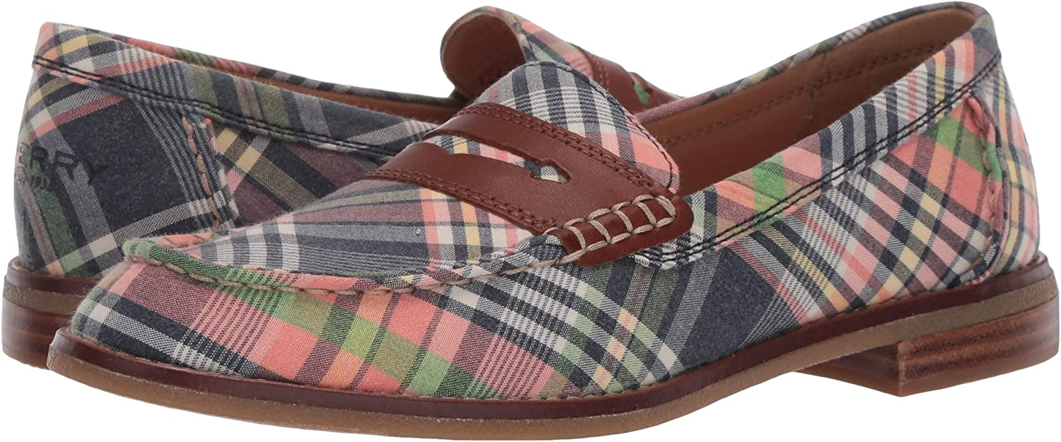 Sperry Top-Sider Women's Seaport Penny Washed Plaid Loafer