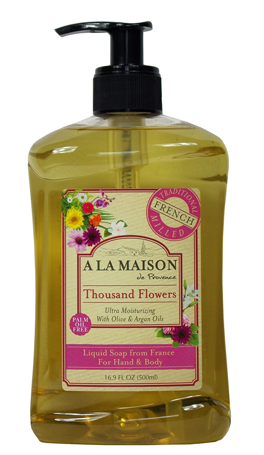 A La Maison French Liquid Soap Rosemary Mint -- 16.9 fl oz 00031