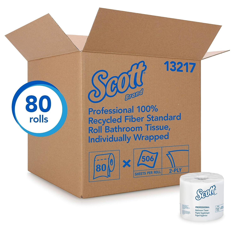 Scott Essential - Papel higiénico profesional 100% de fibra ...