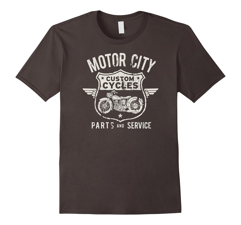 Big Texas Detroit Motor City T-Shirt-TH