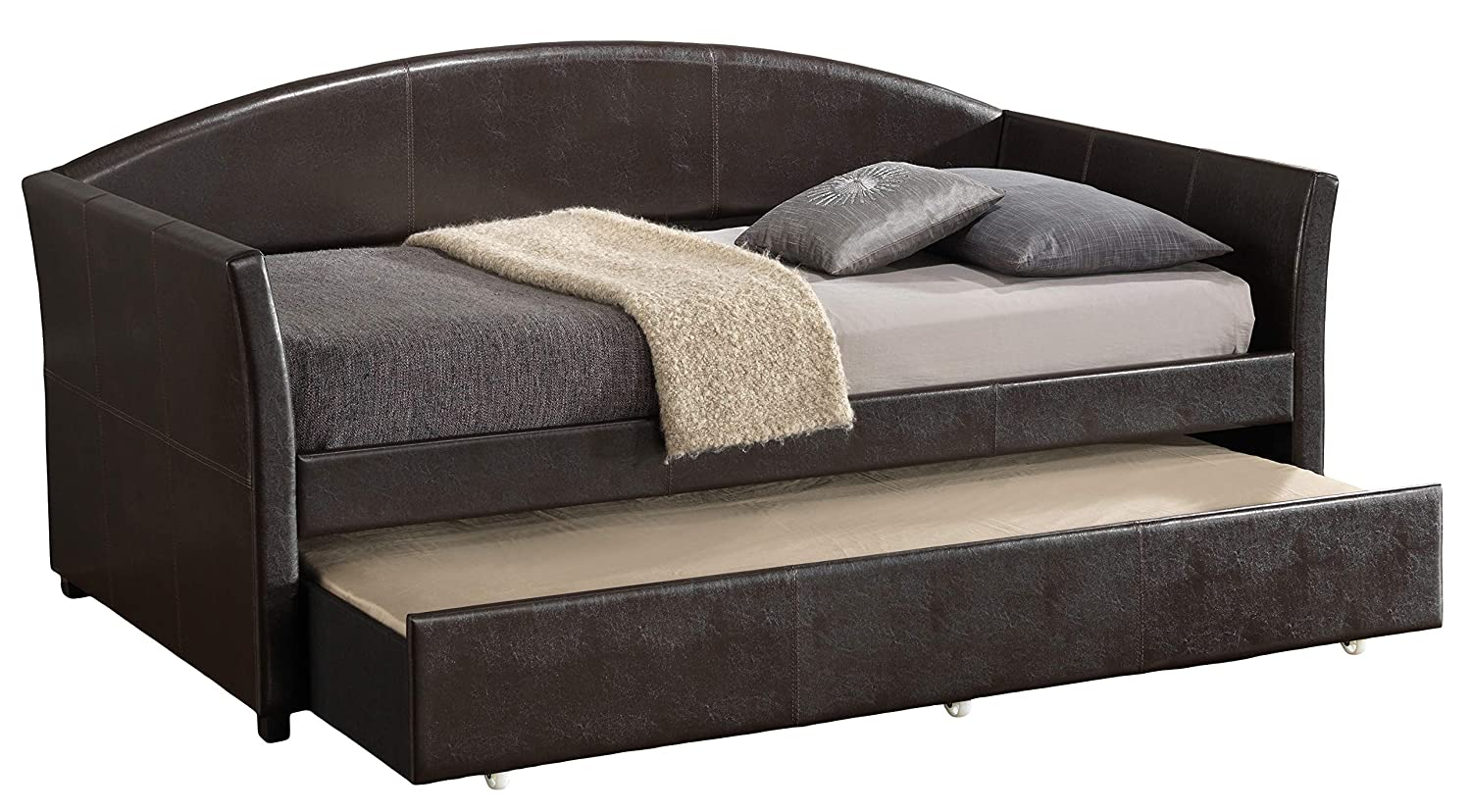 Amazon.com: Gloria Muebles g2579-db Day cama, Capuchino, 3 ...