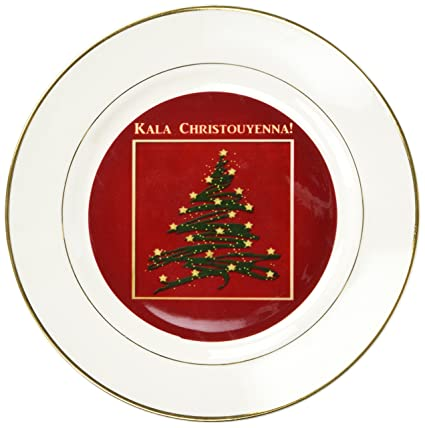 Greek Christmas.Amazon Com 3drose Cp 37022 1 Kala Christouyenna Merry