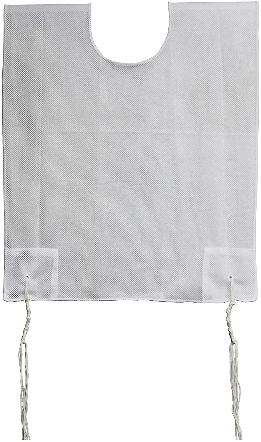 Zion Judaica 100/% Polyester Quality Mesh Tzitzit Garment Certified Kosher Imported from Israel