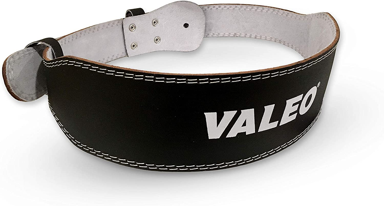 Valeo 4-Inch Padded Leather Belt