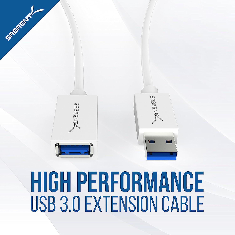 Sabrent Usb Kabel 22 Awg Usb 3 0 Verlängerungskabel Computer Zubehör