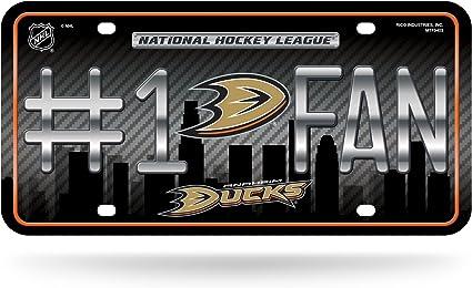 WinCraft NHL Anaheim Ducks 6x12 Plastic License Plate
