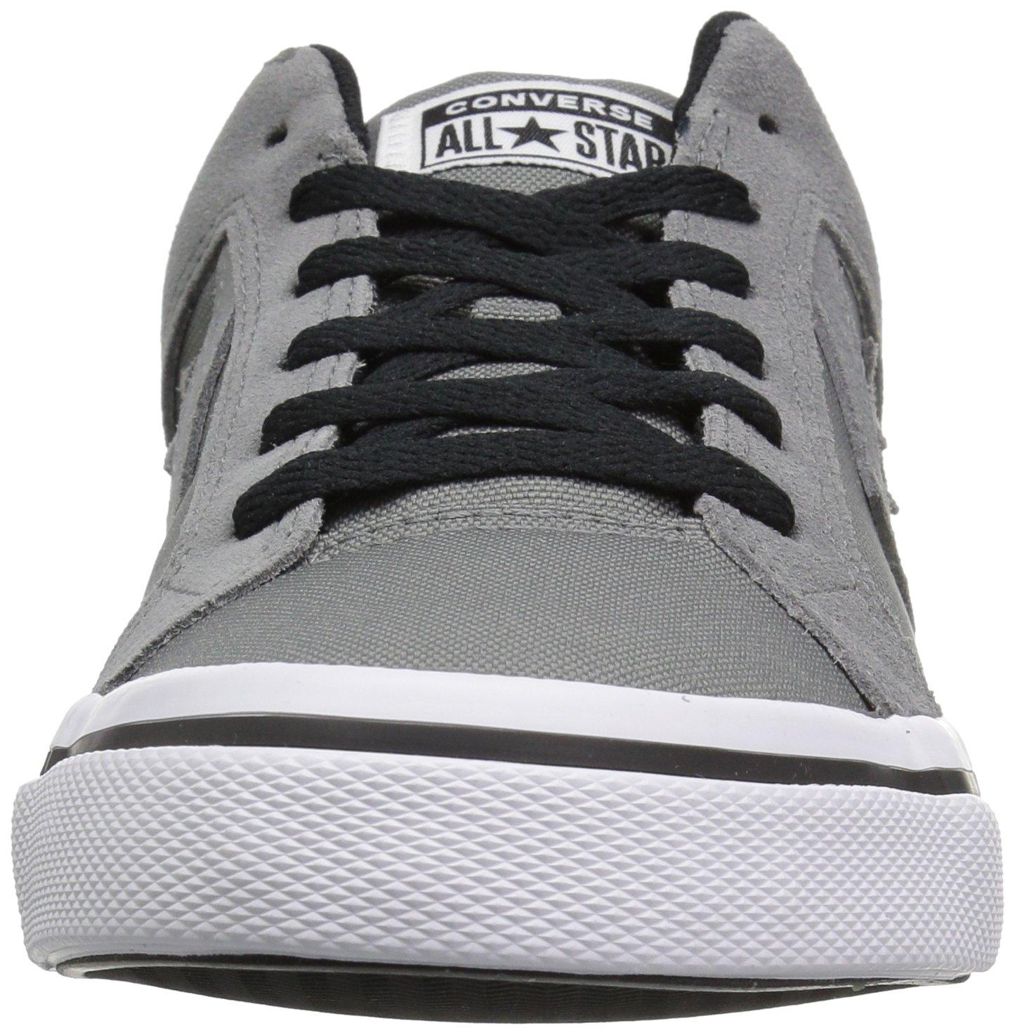 Converse EL Distrito Canvas Low Top Sneaker, Mason/White/Black, 12 M US by Converse (Image #4)