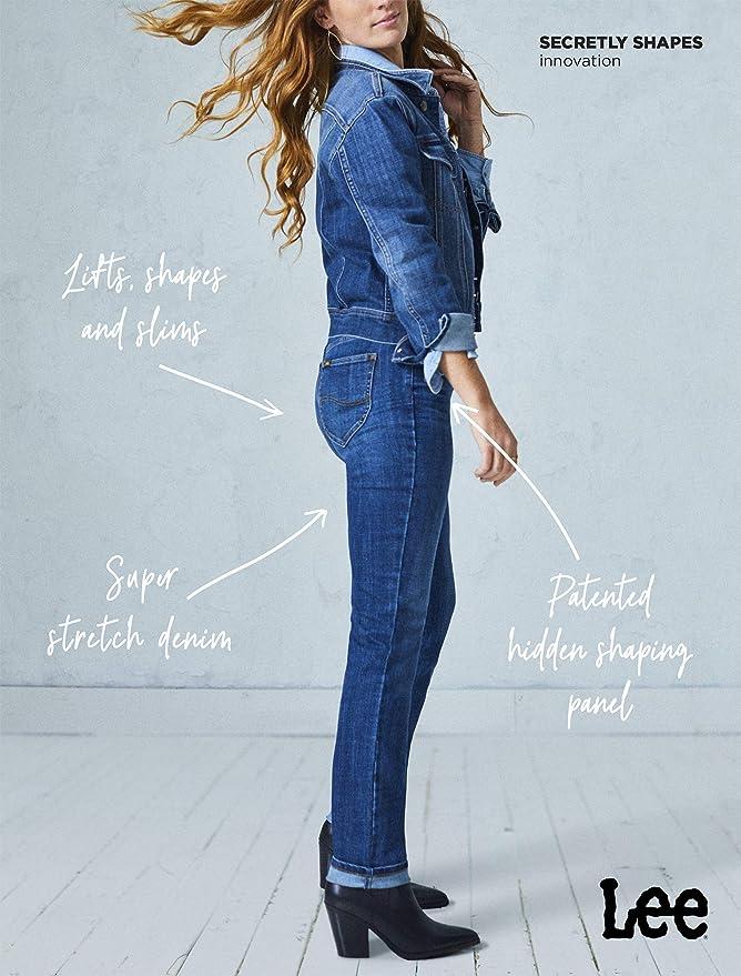 Lee Secretly Shapes Regular Fit Straight Leg Jean Jeans, Estampado ...