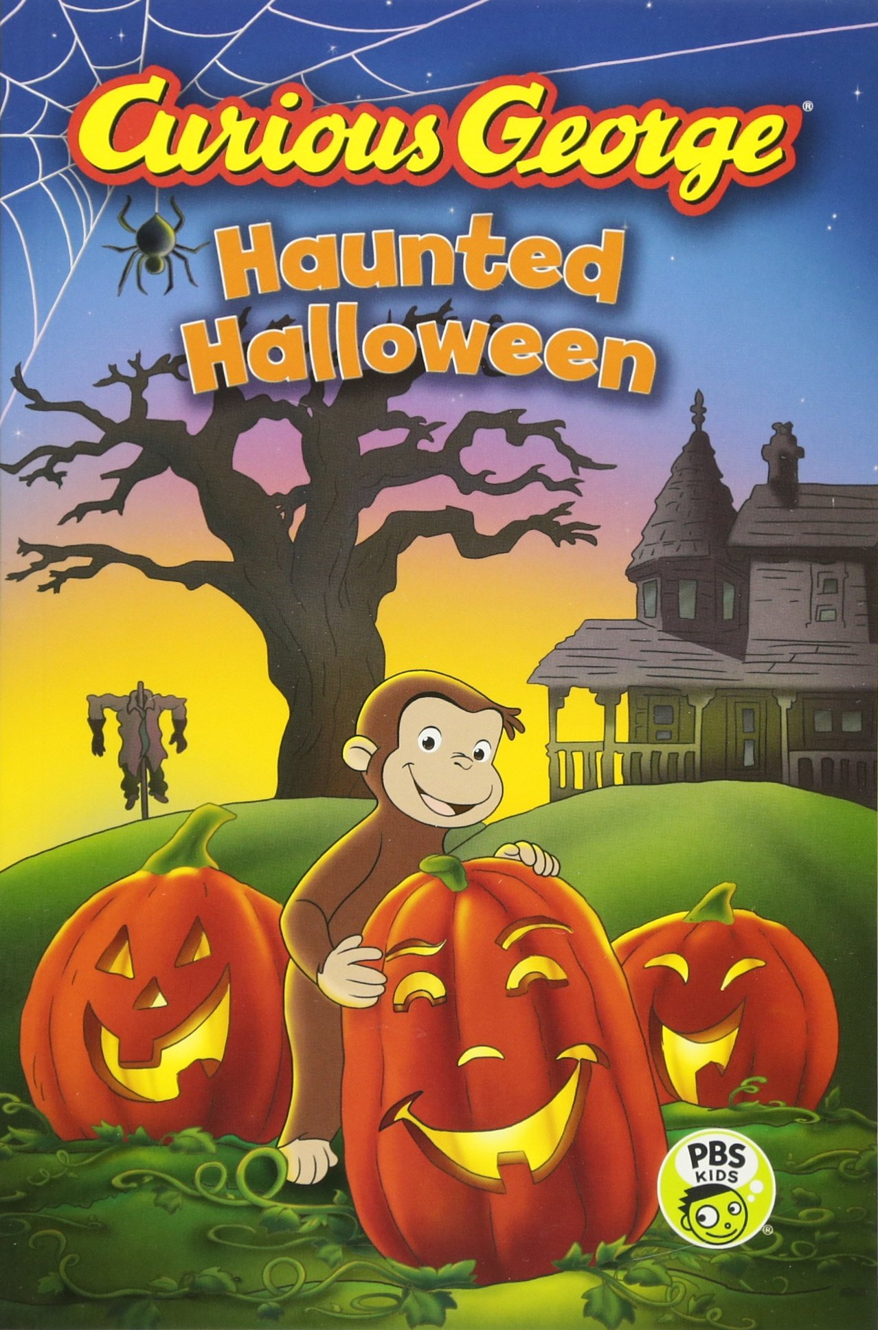 amazoncom curious george haunted halloween cgtv reader 9780544320796 h a rey books
