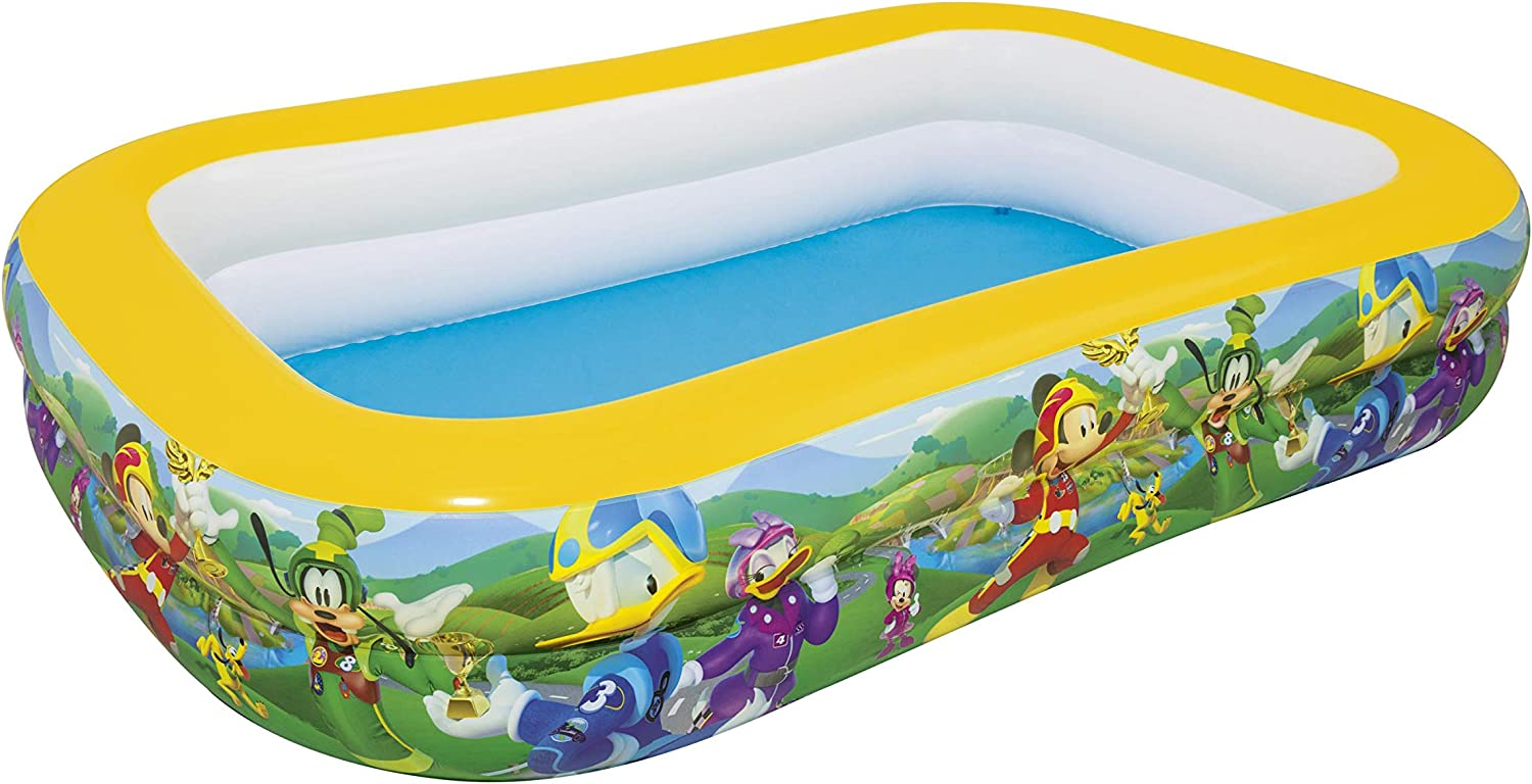 Bestway 91008 - Piscina Hinchable Infantil Mickey and the Roadster ...