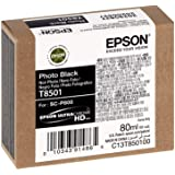 Epson T850100 T850 UltraChrome HD Photo Black Ink