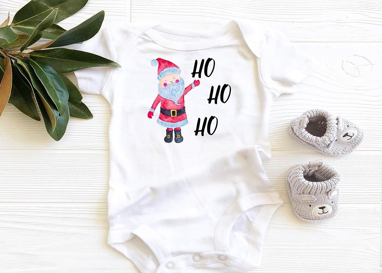 Amazon.com Ho Ho Ho Onesie, Baby Onesie, Baby Bodysuit