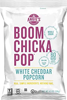 product image for Angie's BOOMCHICKAPOP White Cheddar Popcorn, 4.5 oz. (Pack of 4)