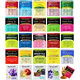 Bigalow Tea Bags Sampler Assortment Variety Pack Gift Box - 49 Count - Perfect Variety - English Breakfast, Green, Black, Her