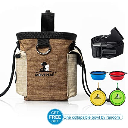 50bdc024fe47 Amazon.com   MOVEPEAK Dog Trainer Kit - Travel Accessories Snack ...
