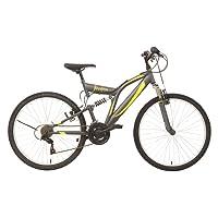 F.lli Schiano Freedom - Bicicleta de Montaña, 18 velocidades, Doble Suspension,