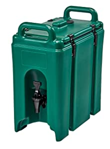 Cambro 250LCD519 Camtainer 2.5 Gallon Capacity Kentucky Green Case of 1